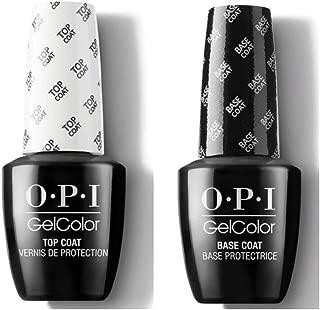 OPI Gel Color Duo Pack Base Coat + Top Coat (GC 030 + GC 010) 15 ml/Gel Polish ! !