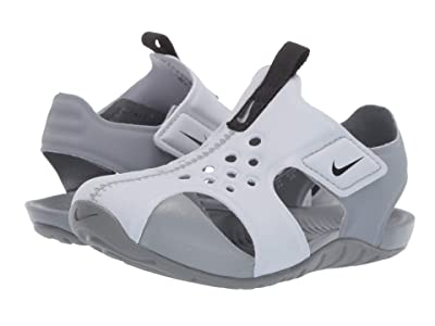 Nike Kids Sunray Protect 2 (Infant/Toddler) (Wolf Grey/Black/Cool Grey) Boys Shoes