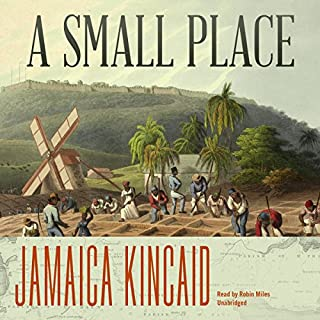 A Small Place audiobook cover art