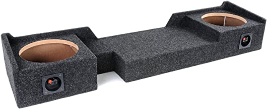 """Bbox A372-10CP Dual 10"""" Sealed Carpeted Subwoofer Enclosure – Fits 2004-2008.."""