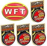 WFT KG STRONG 300m 0,25mm 39kg, geflochtene Schnur, Meeresschnur, Angelschnur, Geflechtschnur, Farbe:Gelb