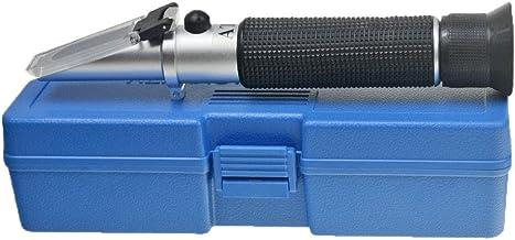 Aquarium Salinity Refractometer with ATC Function,Saltwater Test Kit for Seawater, Pool,..
