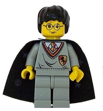 Harry Potter (Gryffindor Shield Torso, Cape, YF) - LEGO Harry Potter Figure by LEGO