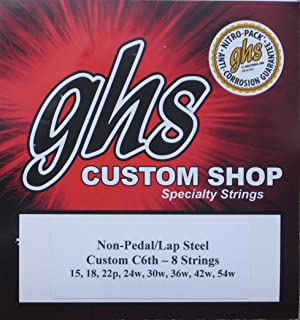 GHS C6th-8 Lap Steel Guitar Strings - 2 Sets