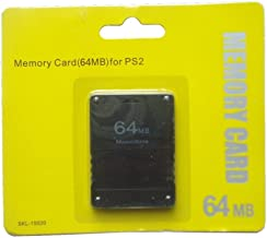 ANKRY New 64MB 64 MB Memory Save Card For PlayStation 2 PS2 Console Game
