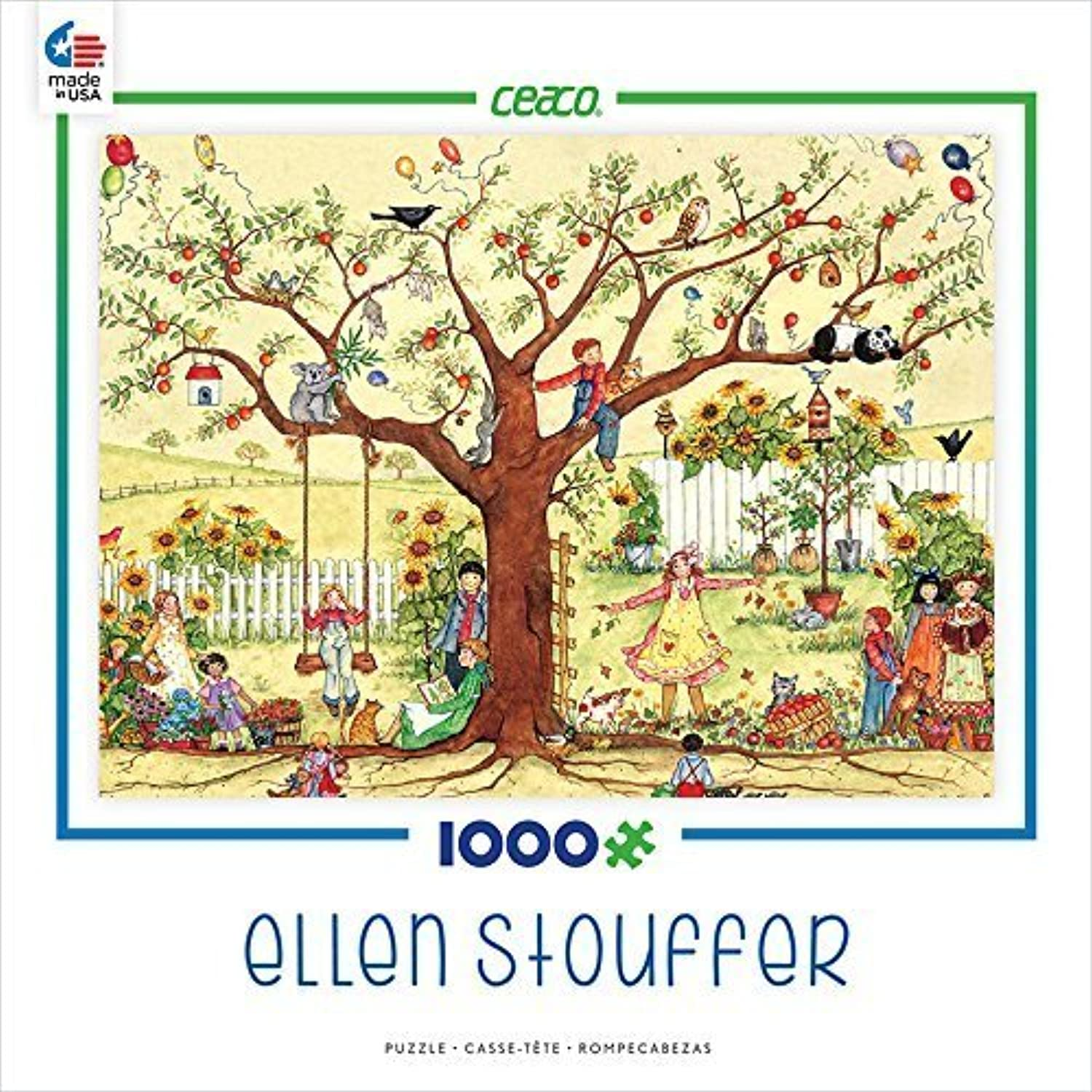 solo cómpralo Ceaco Ellen Stouffer - Growing Together Puzzle