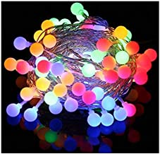 Wall Lamp Led Light String 40Leds Ball Light Battery Powered Starry Fairy Light String Bedroom Garden Christmas Wedding @ Colorful-6M40 Light Decorative lighting