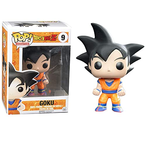 Funko Pop Dragon Ball Z: Black Hair Goku Collectible Figure, Multicolor