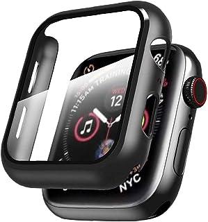 Iwatch All-inclusive etui na cały pokrowiec ochronny z folią ochronną ze szkła hartowanego do serii Apple 1/2/3/4/5/6/se 4...