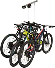 Garage Smart Multi-Bike Lifter, Motorized Bike Lift Hoist, Lifts 1,2, or 3 Bikes up to 100 lbs, iOS & Android Compatible.
