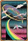 PaBoe 8 x 12 Metal Sign - Zeppelin Stairway -...
