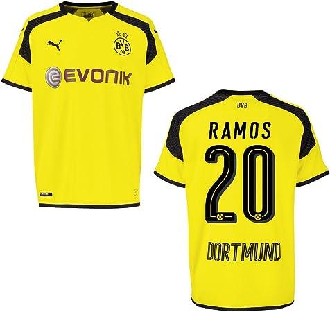 Puma BVB Borussia Dortmund, terza Maglia da uomo 2016/2017 – Ramos ...