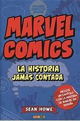 Marvel comics - la historia jamas contada Capa dura