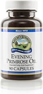 Nature's Sunshine Evening Primrose Oil, 90 Capsules | Provides Essential Fatty Acids Including GLA, Glandular System Support, Helps Strengthen Tissues, and May Promote Bone Health