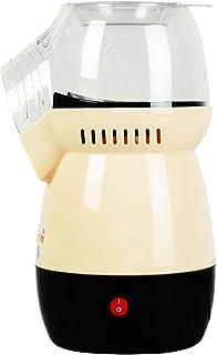 Popcorn Machine, 1100W Home Mini Retro Popcorn Machine 50'S Style Electric Hot Air Oil-Free And Fat-Free Healthy Mini Popc...