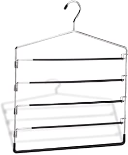 Organize It All 5-Tier Swinging Arm Pant Rack