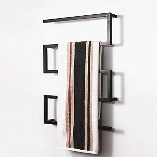 Martll Radiador de toallas radiador toallero para el baño conexión media calentador de toallas radiador de baño 900 * 650 mm