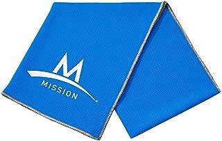 Mission Enduracool Techknit Cooling Towel, High Vis Green, Large
