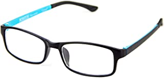 Cyxus Blue Light Blocking Glasses for Women Men UV Filter Computer Reading for Anti EyeStrain Headache Eyeglasses (Blue)