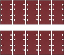 ULTECHNOVO 30 st sandpapper ark aluminium slippapper slippapper slipmaskin ark för polering av glasfiber metall trä (60 80...