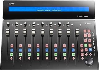 Icon Pro Audio Platform M+ Desktop DAW Controller w/Platform D Display