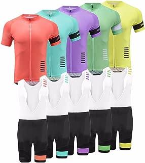 Uglyfrog Newest Designs Men's Breathable Short Sleeve Cycling Jerseys Biking Shirts Bike Tops for Bike Wear
