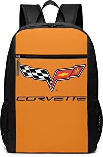 ZaHome Corvette 2015 Casual And Sporty Shoulders Bag Laptop Stylish School 17 Inch Shoulders Bag