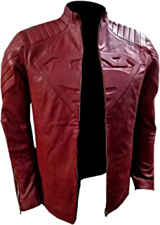 Smallville Tom Welling Clark Kent Real Leather Blue Jacket
