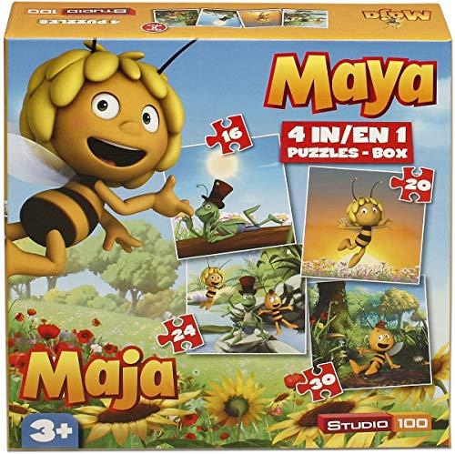 Studio 100 Puzzel Maya 4 in 1 16202430 stukjes (MEMA00000300)