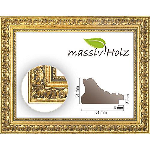 De estilo barroco Marco de 972 ORO, de colour dorado y decorado,...