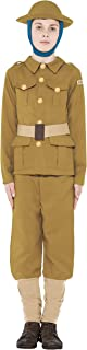 Boys Horrible Histories WW1 Army Military Soldier Guard Wartime World War 1 Historical Fancy Dress Costume Outfit