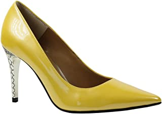 5069c82aba08 Amazon.com  Yellow - Pumps   Shoes  Clothing