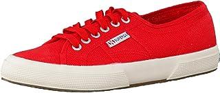 Superga  2750-COTU Classic, Sneakers Uomo, Multicolore Rosso Bianco, 44 EU