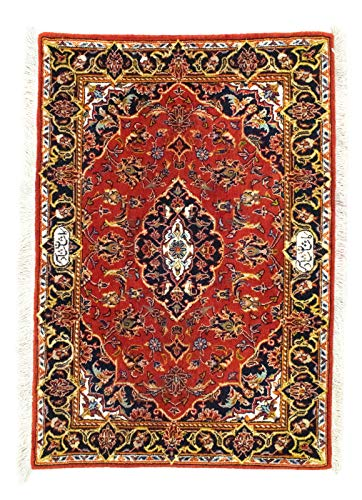 Morgenland Teppiche 4508Kes70x98 Teppiche, 90% Schurwolle 10% Seide, 70 x 98 cm