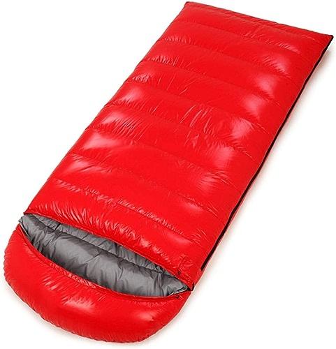 Shiduoli Portable léger enveloppe pour Voyager, randonnée, Camping, Confort pour Les Enfants (Couleur   rouge, Taille   1500g)