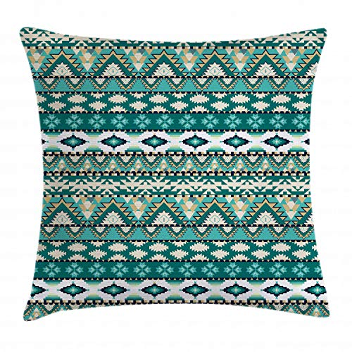 Azure from Europe with Zipper Turquoise Backing for Throw Pillow Kits 16 /× 16 inches