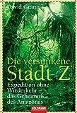Die versunkene Stadt Z: Expedition ohne Wiederkehr - das Geheimnis des Amazonas von Grann. David (2011) Taschenbuch -