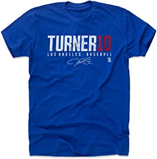 500 LEVEL Justin Turner Shirt - Los Angeles Baseball Men's Apparel - Justin Turner Turner10