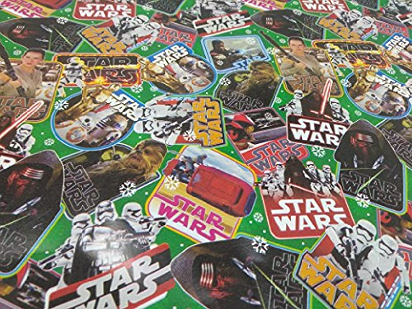 Christmas Wrapping Holiday Paper Gift Greetings 1 Roll Design Festive Wrap Star Wars 1