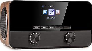 auna Connect 100 SE - internetradio, mediaspeler, Bluetooth, WLAN: netwerkspeler, app-bediening, 2,4 '' TFT-kleurendispla...