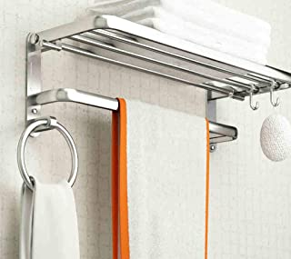 Engrosamiento del baño Capas cuadradas de un Solo baño Pared de la estantería Perforación de ángulo de una Sola Capa