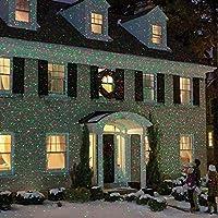 リモコン屋外星灯、LED風景ライト、移動プロジェクター、ガーデンパティオヤード装飾クリスマスパーティー