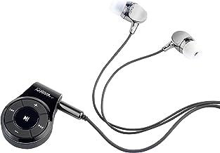 Callstel Empfänger, Bluetooth: Headset-Adapter mit Bluetooth 4.1, Mikrofon & 3,5-mm-Klinke-Anschluss (Adapter Kopfhörer, B...