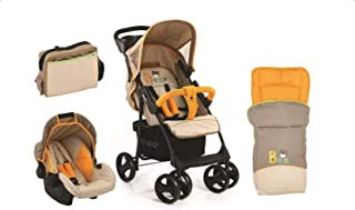 Hauck Shopper SLX Shop'n Drive with Sleeping Bag and Mamma Bag, Travel System, 0M+ to 25 kg - Bear