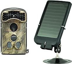 Ltl Acorn 5610WA Wide Angle 14MP 1080P HD Wildlife Game Camera + Solar Panel Charger