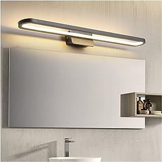 Simple 41/51/61/71cm Mirror Front Lights, Nordic Black Creative Art Decoration Study Room Bedroom Dressing Table Makeup Pr...