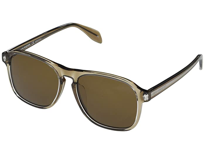 Alexander McQueen  AM0246SA (Brown) Fashion Sunglasses