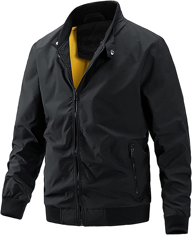 Clearance Men's Lightweight Jackets Outdoors Running Athletic Sports Tops Trucker Coat Jackets
