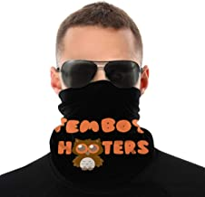 Femboy Hooters1 Seamless Face Mask Mouth Cover Bandanas for Dust, Outdoors, Festivals, Sports