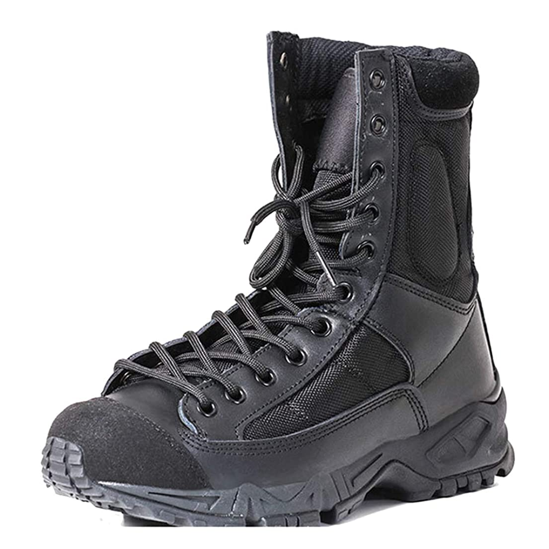 のため麦芽農奴ユニセックスミリタリーアーミーブーツ戦術パトロール戦闘靴警察警備員仕事ユーティリティ履物用レディースメンズアウトドアシューズ